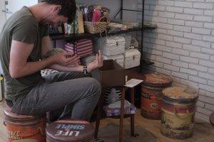 刺蝟咖啡餐廳的室內裝潢:復古風