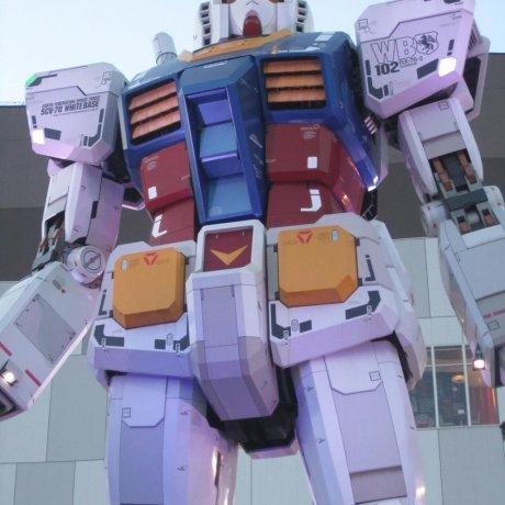 Cafetería Gundam en Odaiba