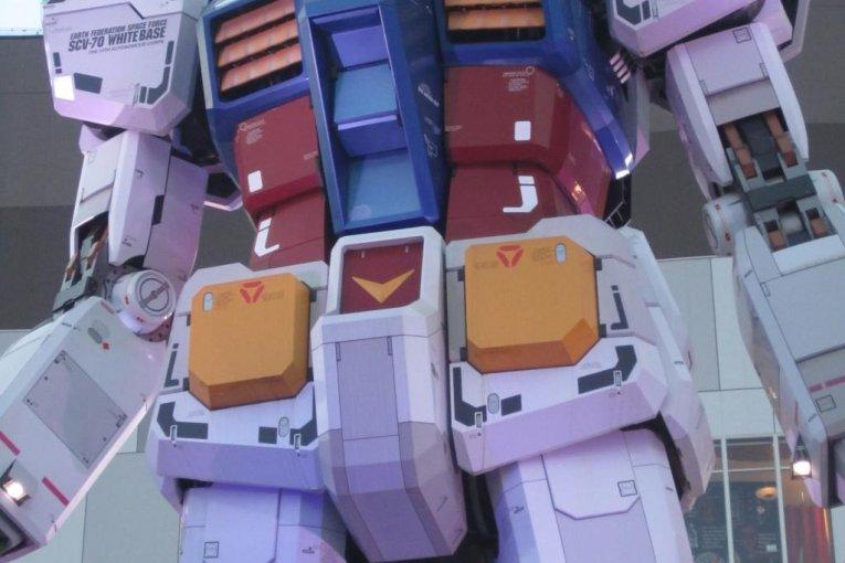 Gundam Cafe ở Odaiba