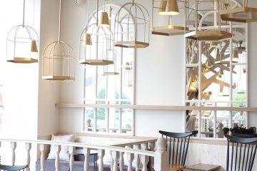 咖啡廳室內設計裝潢:充滿了時尚感