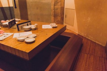 Private room seating