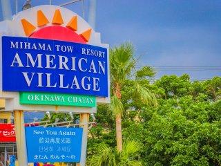 Pintu gerbang ke American Village