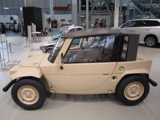 Engraçado carro antigo