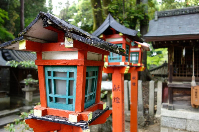 Oda Nobunaga's soul has also been enshrined here since 1987