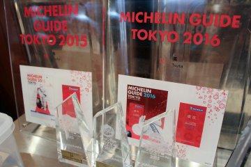 Michelin award from December 2015