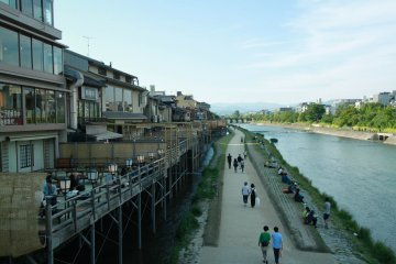 A Walk Along Kamo River