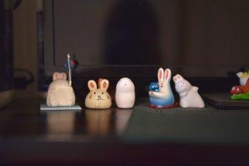 So many usagi or rabbits