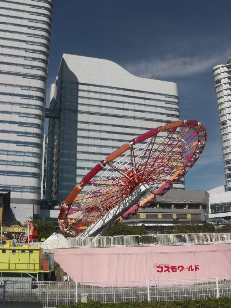 Yokohama Cosmo World Amusement Park Kanagawa Japan Travel Japan Tourism Guide And Travel Map