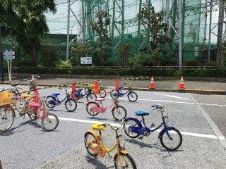 Initiation au vélo ?