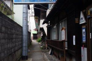 Bagian luar hostel