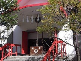 The unusual worship hall