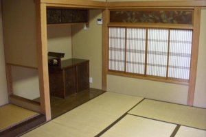 Every room in Kyu Asakura House is well preserved