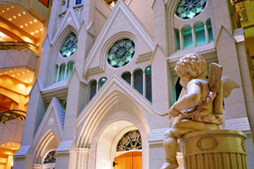 Be one with the silence and peace of Chapel Blanc at the Emisia (formerly Sheraton) Hotel