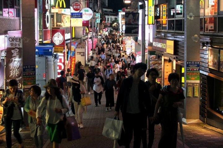 Takeshita Street at Sundown
