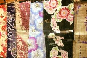Choisissez le motif que vous préférez parmi les kimonos