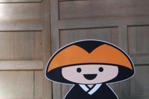 Koya-kun, the mascot of Koya-san