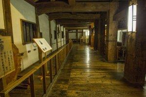 Intérieur du château de Matsue