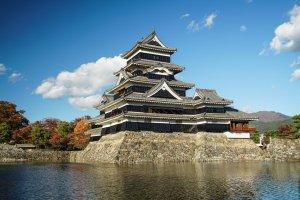 Le donjon du château de Matsumoto