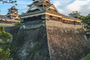La Uto yagura de Kumamoto, la plus ancienne tour de garde au Japon