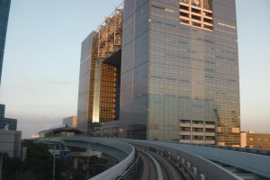 Approaching Telecom Center Station