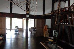 Irori fire place