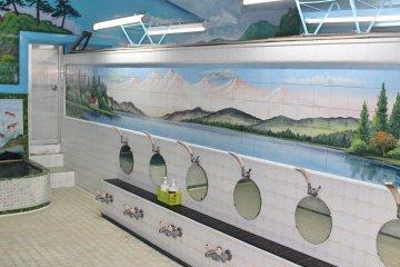 สถานที่สำหรับอาบน้ำชำระกายให้สะอาด