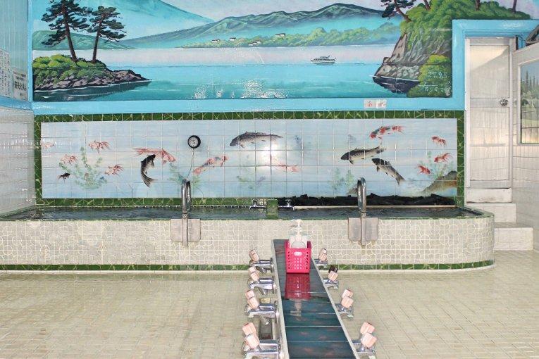Nhà tắm truyền thống ở Iidabashi