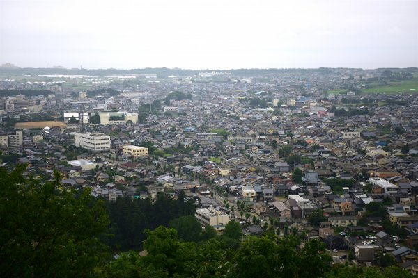 View from Murakami Castle