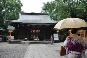The center of Hikawa Shrine
