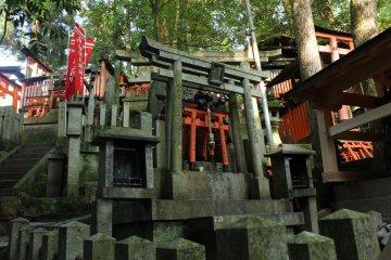 Hay mucha veneración hacia Inari.