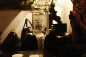 Water distiller for absinthe