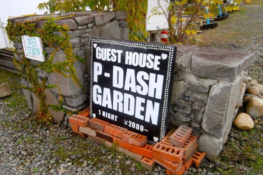 P-Dash Sign