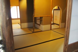 Tea-ceremony room of Ikegami Hyakuchikutei