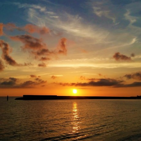 Sunset Beach at American Village