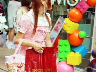 Harajuku shopper