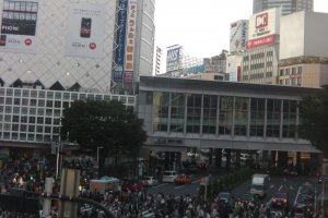 Shibuya Crossing is the heart of Tokyo