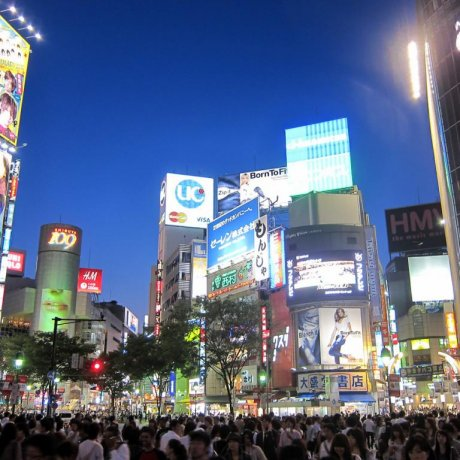 Passadeira de Shibuya