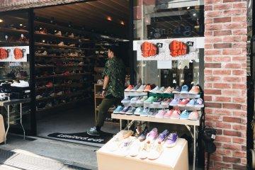Harajuku Sneaker Shopping