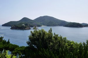 Another view of Tomo's isles from Enfukuji