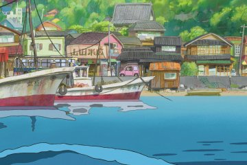 A scene from Ponyo