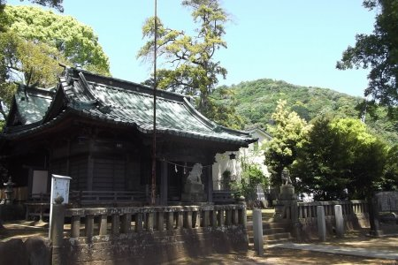 Đền Taga-jinja ở Izu-Taga