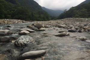 Tanigawa River in Minakami
