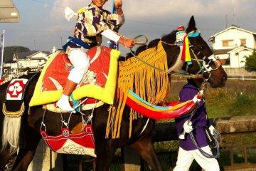 Horse Running at Kamo Shrine