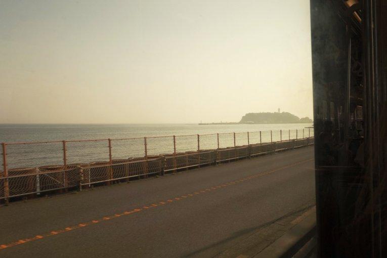 Hoàng hôn ở Enoshima