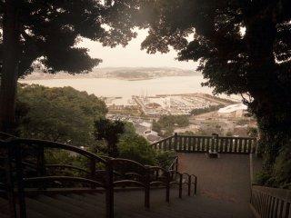 Khi bạn leo lên cao, khung cảnh càng trở nên đẹp hơn
