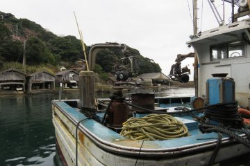 It may be hard work on the fishing boats, but now with only one regular fishing boat based here, the lack of competition has meant that they get the pick of the sea