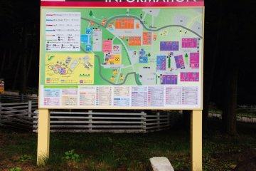 Map of Resort Outlet Yatsugatake