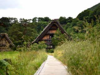The Wada House, the largest gassho-styled house in Shirakawa-go