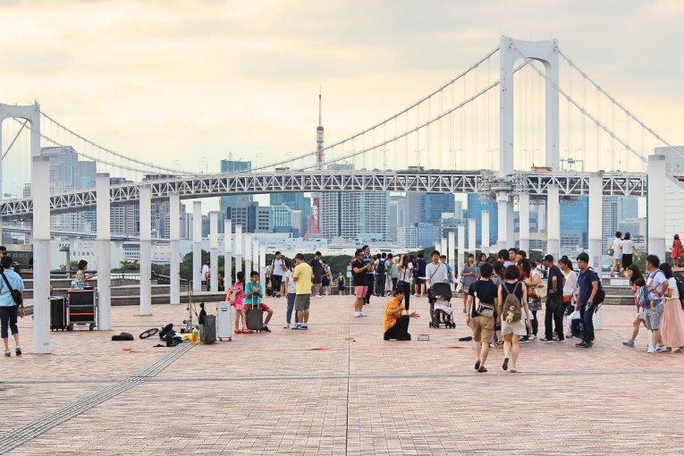 Odaiba, City From the Future