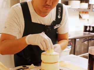 Le chef des pancakes